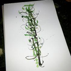 'Trespassing Art' #calligraphy #modern #calligraphymasters #calligraffiti #handlettering #handwriting #handstyle #freehand #lefthand #lefty #gothic #custom #textura #lettering #paindesignart #tyxca @handmadefont #typematters #typism #typegang #goodtype #artoftype #thedailytype #designspiration
