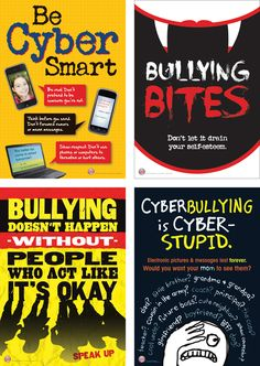 Anti-bullying posters for the middle school classroom