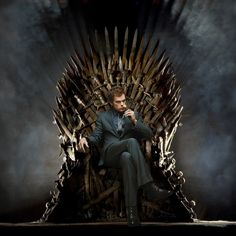Ever wondered if Dexter Morgan could slice his way to the Iron Throne on 'Game of Thrones'? Dexter Morgan, Men In Black, Avenged Sevenfold, Tony Stark, Arya Stark, Game Of Thrones Premiere, Synyster Gates, Iron Throne, Prince Rogers Nelson