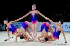 Rhythmic gymnastics leotard (photos by Asya Voskanyan) Acro Dance, Dance Poses, Sport Gymnastics, Rhythmic Gymnastics Leotards, Pe Activities, Dance Choreography Videos, Modern Dance, Dance Class, Grand Prix
