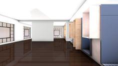 Estamos a desenvolver a transformação de um espaço dos anos 2000, adequando-o a usos e requisitos muito particulares e interessantes por parte do cliente. Mais acerca do processo em breve.
