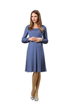Sweet Mommy Front Gathered Maternity and Nursing Dress « Clothing Impulse