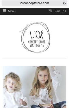 www.lorconceptstore.com #kids #conceptstore based in Rome