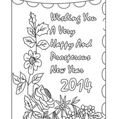 1000 images about new year eve on pinterest new years for Coloring pages new years eve