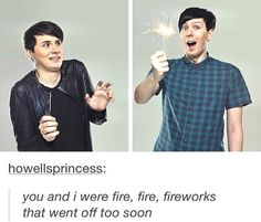 Dan and Phil+Fall Out Boy=OMG IM FANGIRLING ITS MY LIFE SUMMED UP OMG ASDFGHJKL;