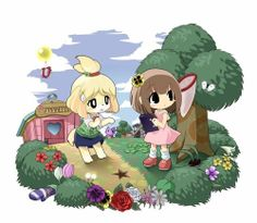 mayordana:  animalcrossingforyou:  animal crossing new leaf.  Cute ♥