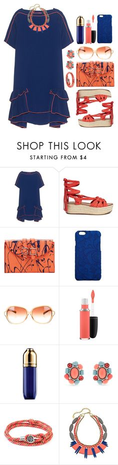"""""""02.09.16"""" by malenafashion27 ❤ liked on Polyvore featuring Sigerson Morrison, Meli Melo, Dolce&Gabbana, Oliver Peoples, MAC Cosmetics, Guerlain, Erica Lyons, Anchor & Crew and David Aubrey"""