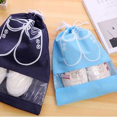 Foldable Storage Bags Laundry Shoe Travel Pouch Portable Tote Drawstring Storage Bag Organizer Rich And Magnificent