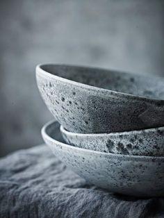 """daraartisans: """" COVET Grey ceramics. """""""