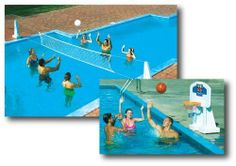 Pool Jam Combo Inground pools New Sets Volleyball Basketball Fun Pools Play