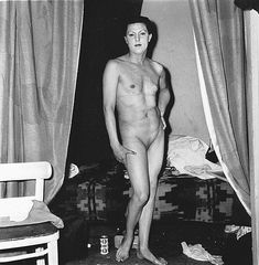 View A naked man being a woman, N. by Diane Arbus on artnet. Browse upcoming and past auction lots by Diane Arbus. Diane Arbus, Vivian Maier, Documentary Photographers, Famous Photographers, New York City, August Sander, Ellen Von Unwerth, Transgender People, Greenwich Village