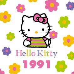 Hello kitty through the years 1991