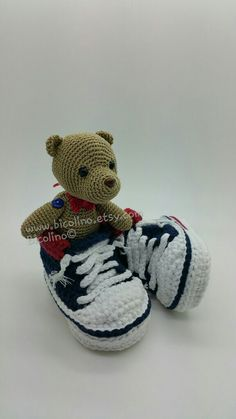 My first shoes + Teddy bears Bicolino