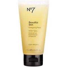Boots No7 Beautiful Skin Energising Mask #Beauty