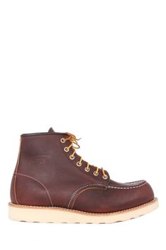 cc0a3b57 Red Wing Shoes 6 Inch Moc Work Boot in Briar Oil Slick Leather Red Wing  Shoes