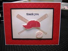 Quick Thank You for the Coach by vafroggie44 - Cards and Paper Crafts at Splitcoaststampers