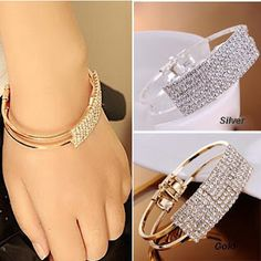 Real deals for you: Bracelet femme 2016 fashion luxury super flash ele...