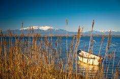 Barque catalane sur l'étang de Canet. #ILoveCanet