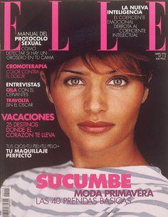 Helena Christensen for ELLE Spain 1996 Helena Christensen 3bfef4631f67