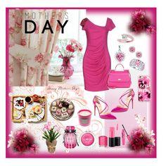 """Happy Mothers Day"" by cherishmm3 on Polyvore featuring Blugirl, Christian Louboutin, Dolce&Gabbana, Clinique, Essie, Victoria's Secret, MAC Cosmetics, Allurez, Kobelli and Bling Jewelry"