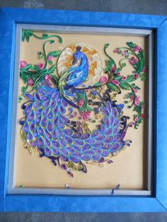 1000+ images about PEACOCK quilled on Pinterest | Quilling ...