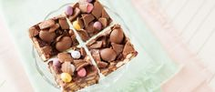 Use up leftover chocolate from Easter in this easy no-bake chocolate biscuit cake filled with digestives, rich tea biscuits and Maltesers. Chocolate Biscuit Cake, Easter Chocolate, Chocolate Desserts, Easter Recipes, Dessert Recipes, Rich Tea Biscuits, No Bake Cake, Sweet Recipes, Children