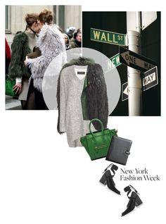 """""""Winter street style"""" by magdafunk ❤ liked on Polyvore featuring Balmain, By Malene Birger, Marni and Royce Leather"""