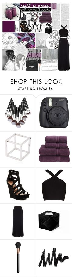 """""""i reach out and touch"""" by m00nlitsouls ❤ liked on Polyvore featuring Anja, Fuji, Caterina Zangrando, Christy, Chinese Laundry, Who What Wear, BCBGMAXAZRIA, Jacques Vert, Chanel and MAC Cosmetics"""