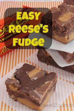 Easy Reese's Fudge - iSaveA2Z.com