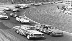 Pictures From the 1960s | ... on Martinsville's tight 1/2-mile track during the 1960 Virginia 500