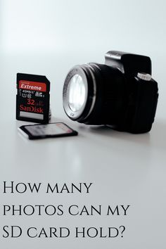 """How many photos can this card hold?"" is one of my most commonly heard questions, but it doesn't have a simple answer.  Fortunately, we've created a simple table for figuring it out!  #photography #photographytips #photographyresources Landscape Photography Tips, Photography Basics, Photography Tips For Beginners, Types Of Photography, Aerial Photography, Photography Tutorials, Learn Photography, Amazing Photography, Scenic Photography"