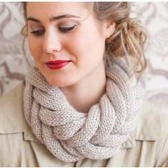 How could you not love this design? Entwined Cowl pattern from Be Sweet. $5.00