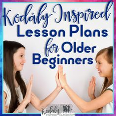Kodaly Lesson Plans and PowerPoints for Older Beginners {Growing Bundle of 10…