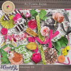 Autumn Rose by WendyP Designs http://www.mscraps.com/shop/wendypdesigns-AutumnRoseElements/