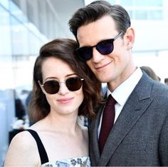 A Doctor a day/Matt Smith with Claire Foy