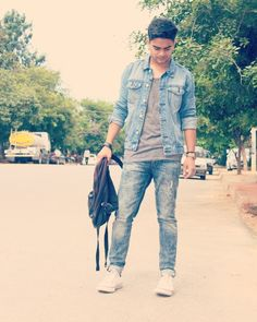 #fashionphotography #denimjacket #bluesparrow