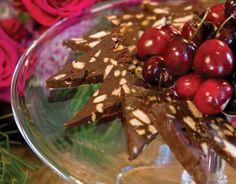 Chocolate Cherry Hazelnut Terrine - Victoria magazine