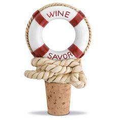 Nautical Wine Bottle Stoppers