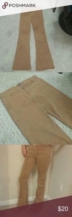 Zara Core Denim High Waisted Skinny Flare Pants Zara core denim skinny flare pants. Zara Pants Boot Cut & Flare