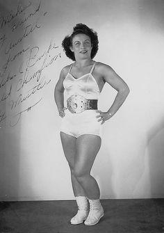 REAL Old School Wrestling - Mildred Burke