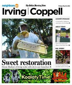 05/25: Urban beekeepers are working to preserve honeybee colonies. http://www.neighborsgo.com/stories/83422