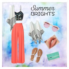 """""""Summer Brights"""" by zitaaaaaa ❤ liked on Polyvore featuring Nicole Miller, H&M, Aéropostale, Sheriff&Cherry and summerbrights"""