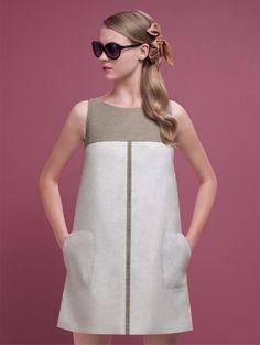 45 ideas clothes casual spring hats for 2019 Simple Dresses, Cute Dresses, Beautiful Dresses, Casual Dresses, Short Dresses, Fashion Dresses, Summer Dresses, 1960s Fashion, Korean Fashion