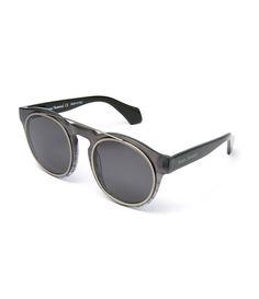 4086e5e1295  Stylish  mens  sunglasses perfect choice of  Adine Black Gradient Lens  polarized prescription