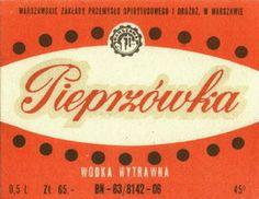 Pieprzówka, wódka wytrawna #Warsaw #Alcohol