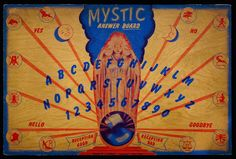 Museum of Talking Boards Collection - Gene Orlando - Picasa Web Albums Messy Nessy Chic, Witch Board, Hello Goodbye, Father Time, Tarot Card Meanings, Dangerous Minds, Halloween House, Stargazing, Occult