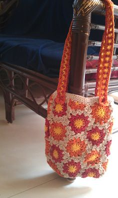 Ravelry: The Hex Tote pattern by Alice Merlino