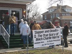 Dapper & Deadly: The True Story of Black Charlie Harris was released in Fairfield, IL by Downstate Publications. The book's author Taylor Pensoneau has also written Brothers Notorious - The Sheltons, another Illinois true crime story.