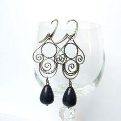 #filigree #silver #earrings #handmade #amade
