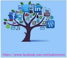 Social Media Optimization(SMO) Service at affordable Price - E Virtual Services